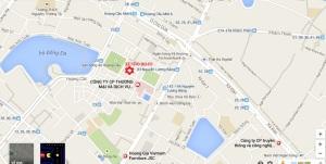 Bản đồ tới sân HC